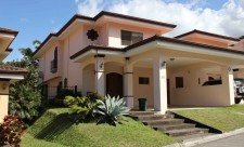 front view of the escazu costa rica townhouse