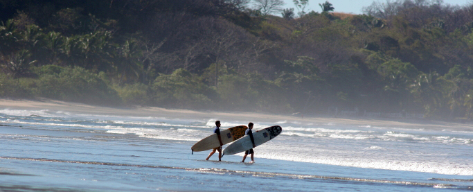 nosara beach costa rica surfing
