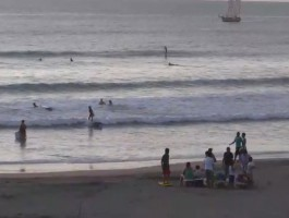Surfing Webcam from Tamarindo Costa Rica