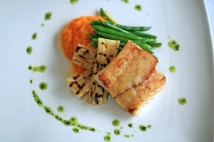Pranamar Villas cuisine - fresh fish & vegetables
