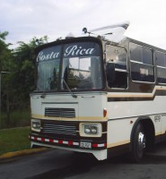Interlinea Bus San Jose Costa Rica