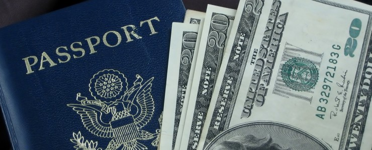 Passport and money