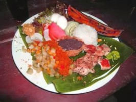 Regional dish in Costa Rica.