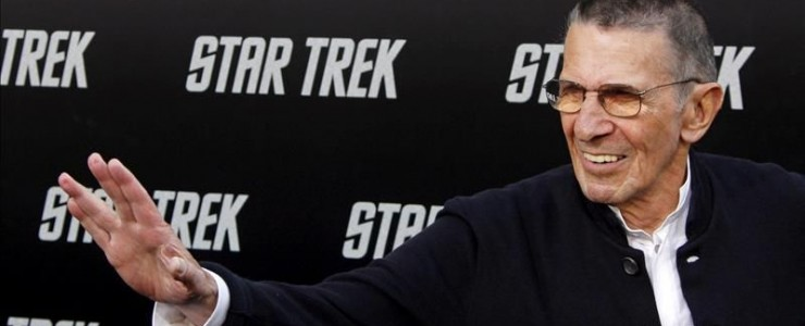 "File photo of U.S. actor Leonard Nimoy, who played the extraterrestrial Mr. Spock in the sci-fi TV series and movie saga ""Star Trek,"" and who died Friday at his home in Bel Air, Los Angeles, at age 83 of chronic obstructive pulmonary disease. EFE/File"