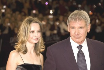 Harrison Ford and Wife Calista Flockhart. Wikimedia Commons