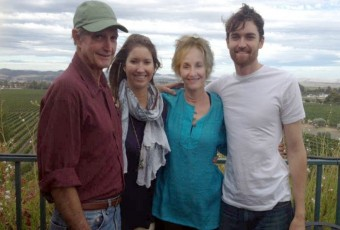 Ross Ulbricht (right) and his family enjoy happier times. FreeRoss.org