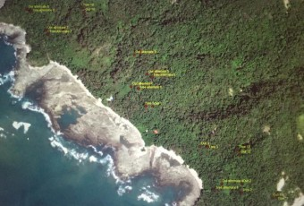 Cabo Blanco, Costa Rica. Source: DigitalGlobe