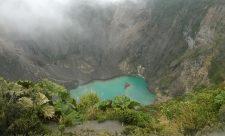 Irazu volcano Costa Rica Lake