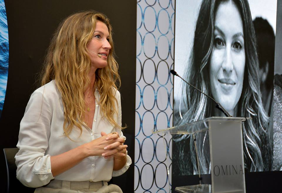 Gisele Bundchen Says She Loves the People, the Nature and the Pura