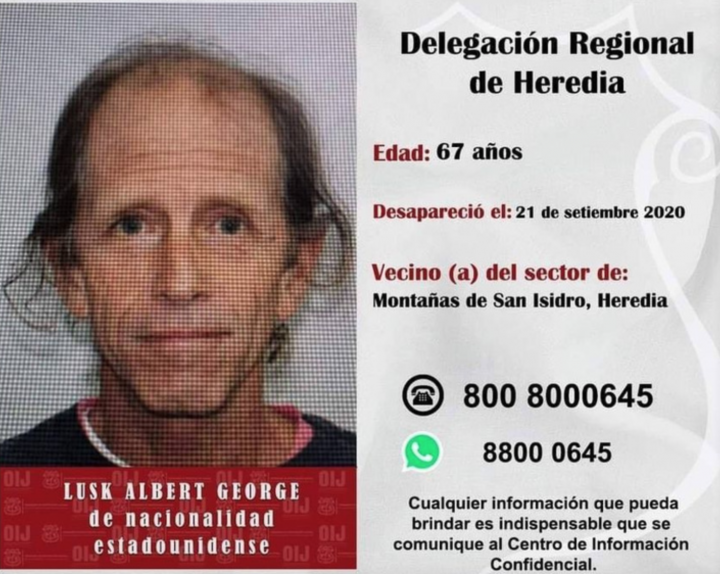 Another Mysterious Disappearance of American Citizen in Costa Rica - Costa Rica Star News
